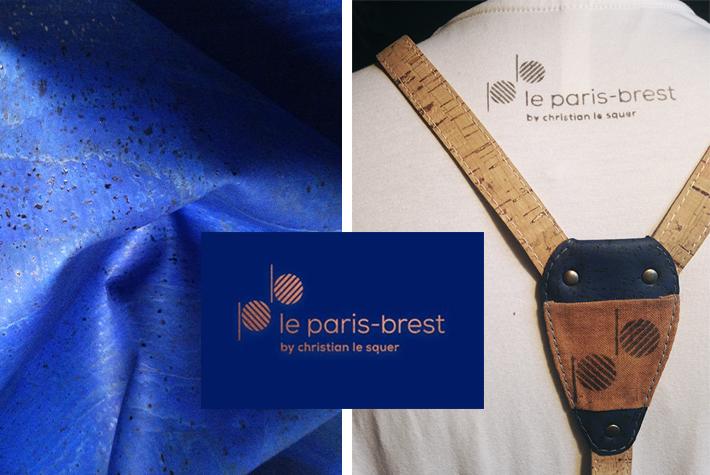 le paris brest Loxiale Label Block print gastronomy french natural dye eco friendly luxury design eco design save the planet