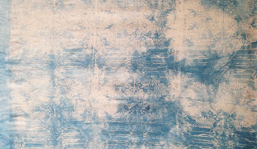 tenture kakemono loxiale textile mural tapisserie Loxiale